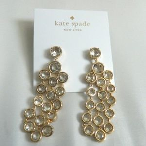 KATE SPADE Subtle Sparkle Chandelier Earrings